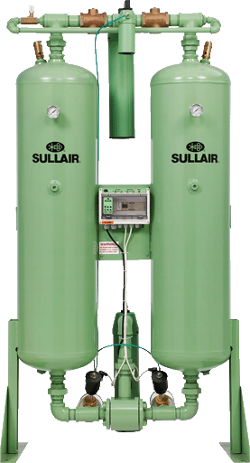 Sullair DHL400 desiccant heatless dryers