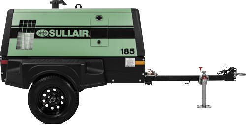 185 Tier 4 Final Portable Air Compressor Sullair