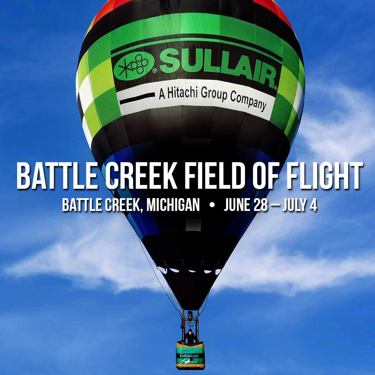 Sullair Balloon at Battle Creek Field of Flight
