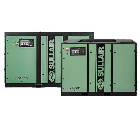 LS90V and LS160S compressors