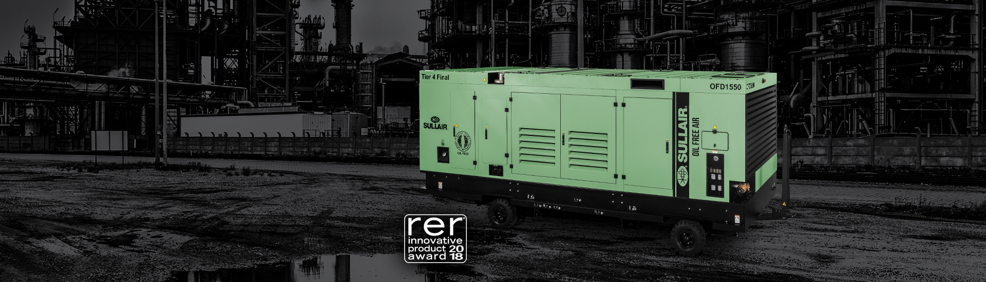 sullair ofd1550 wins rer 2018 award