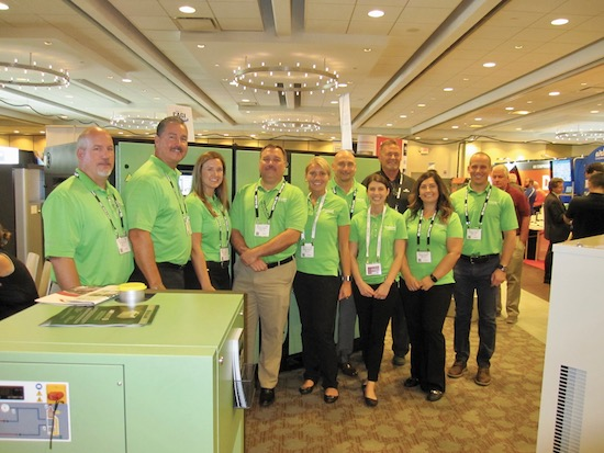 Sullair team at the Compressed Air Best Practices Expo & Conference