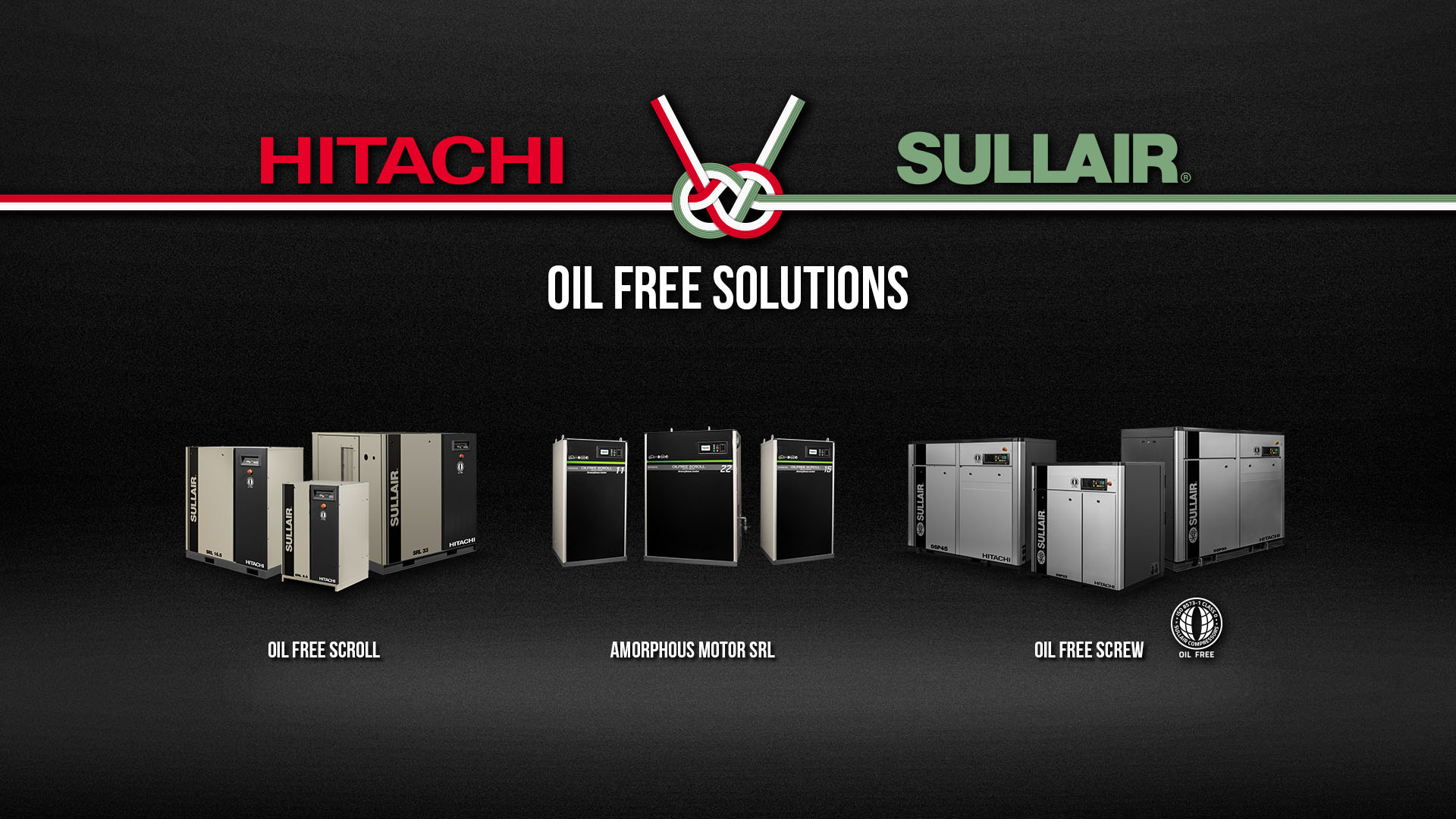 Hitachi and Sullair global compressor solutions