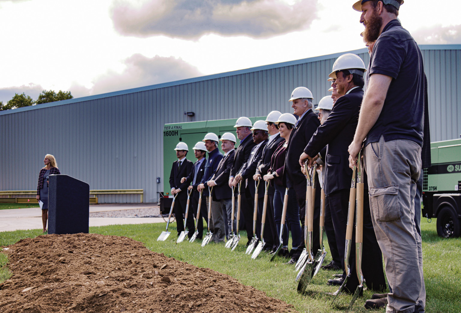 Sullair Michigan City Groundbreaking Ceremony