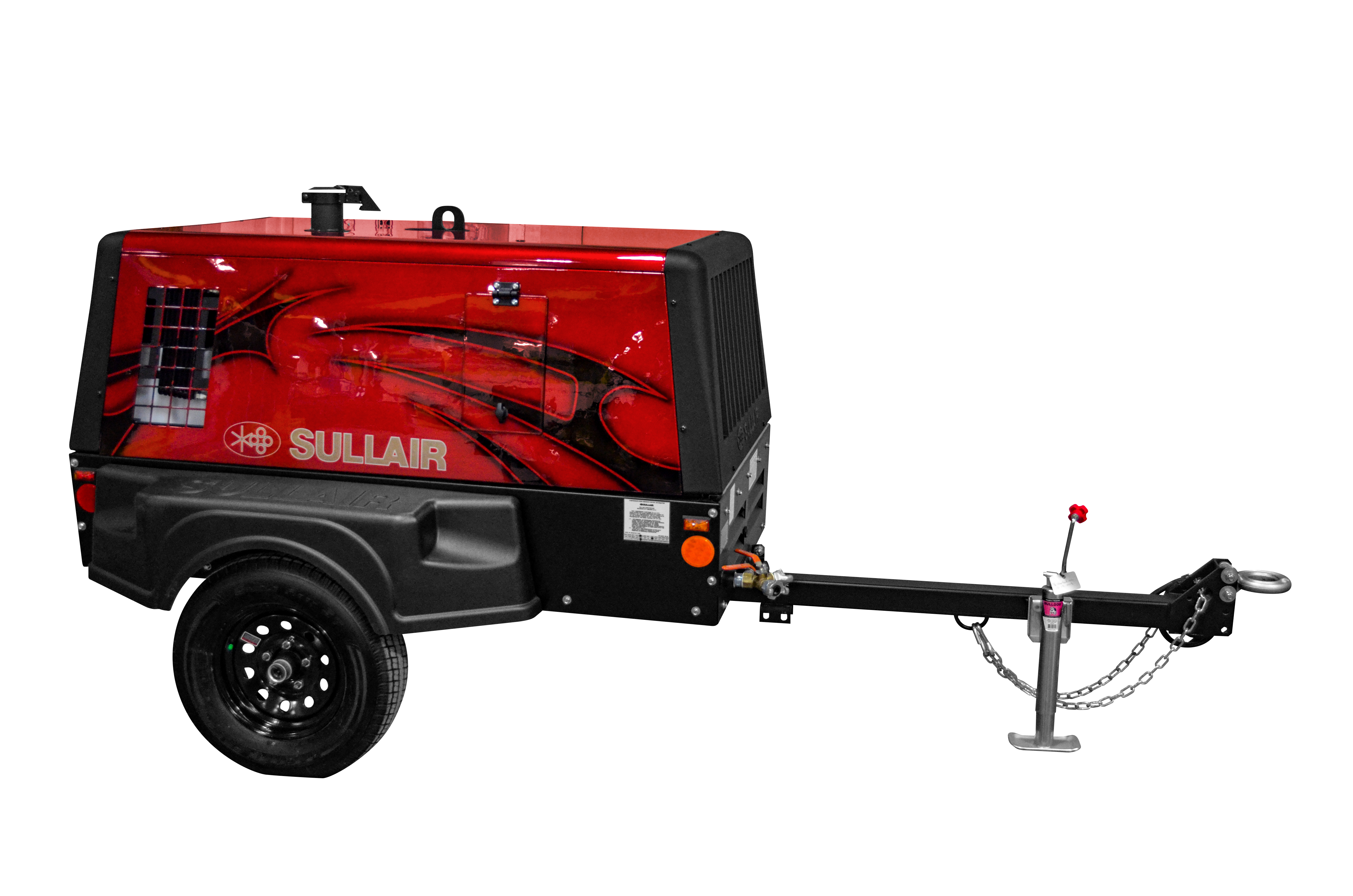 Sullair Perkins-Powered 185 cfm portable air compressor for The ARA Foundation