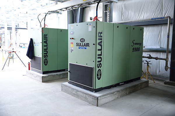 Columbia Pulp's 24/7/365 operations rely on Sullair compressors and dryers
